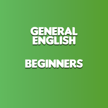 General English for Beginners