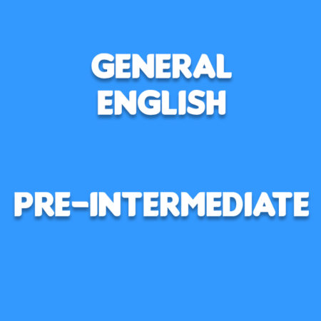 General English for pre-intermediate
